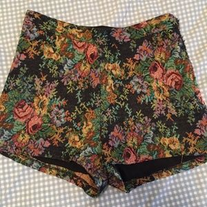 Modcloth Tapestry-Style Shorts